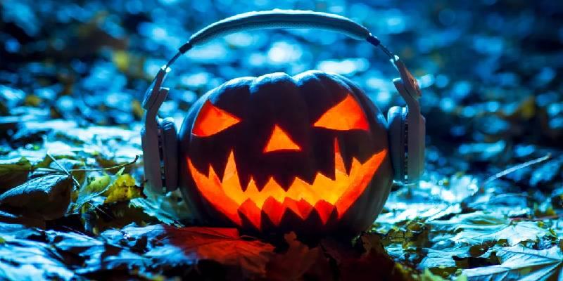 Image Representing Halloween Pumpkin.